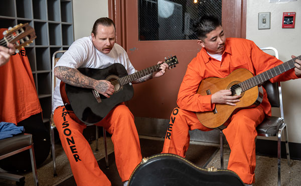 Guitar at Pelican Bay State Prison - 2019 Jan.