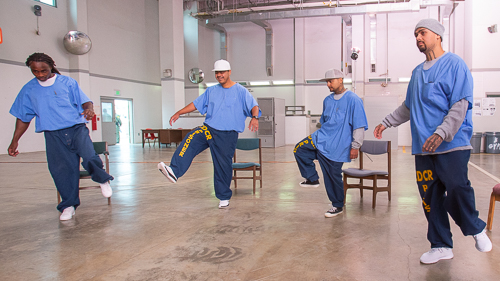 Theater at Salinas Valley State Prison - 2018 Oct.