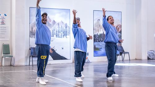 Theatrical Workshop at High Desert State Prison - 2018 Oct.