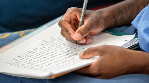 Creative Writing at California City Correctional Facility- 2018 April