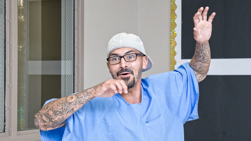 Storytelling at Wasco State Prison - 2017 June
