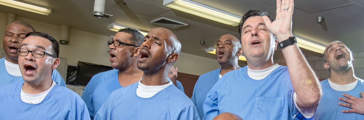 Gospel Choir at Valley State Prison - 2017 Feb.
