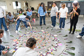 Creating Mandalas at California Institution for Women - 2016 Dec.