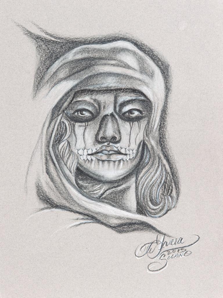 Dia de la Muerte; Jesse Garcia; 2015; prisma; 12x9 inches