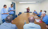 Playwrights Project at Donovan State Prison - 2015 July