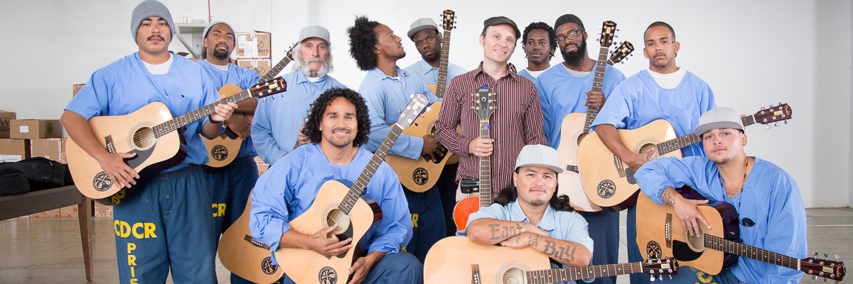 Guitar Class at Salinas Valley State Prison - 2015 June